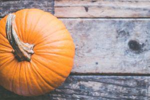 pumpkin on brown wooden surface 633480